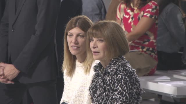 Anna Wintour at Christian Dior SS16 on October 2 2015 in Paris France