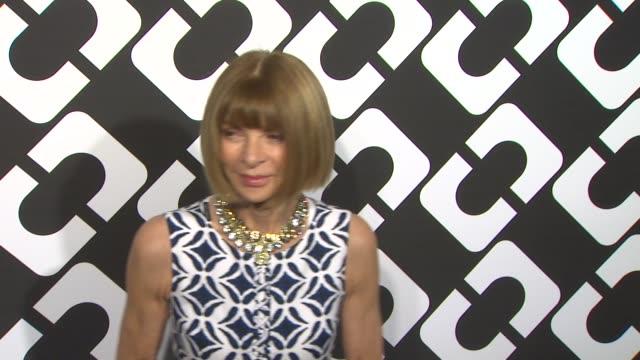 Anna Wintour at Diane Von Furstenberg's Journey Of A Dress Exhibition Opening Celebration in Los Angeles CA