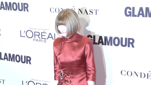 Anna Wintour at Glamour's 2016 Women of the Year at NeueHouse Hollywood on November 14 2016 in Los Angeles California
