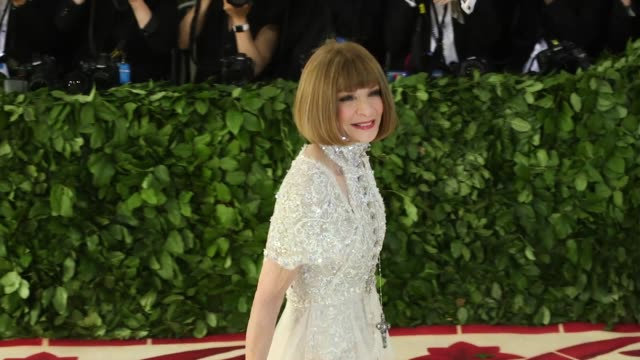 Fashion The Catholic Imagination Costume Institute Gala at The Metropolitan Museum of Art on May 07 2018 in New York City