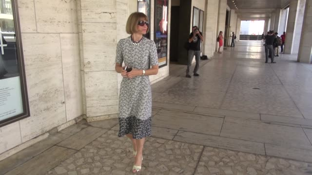 Anna Wintour at The Couture Council of The Museum at the Fashion Institute of Technology hosted luncheon honoring Michael Kors in New York NY on...