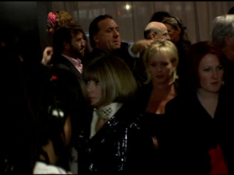 Anna Wintour at the 'Thank You For Smoking' New York Premiere at the Museum of Modern Art in New York New York on March 12 2006