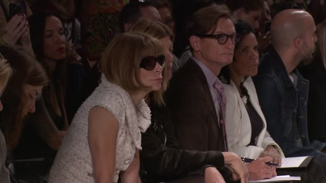 Anna Wintour at Vera Wang Spring 2013 MercedesBenz Fashion Week at The Stage at Lincoln Center on September 11 2012 in New York New York