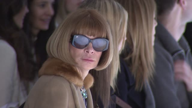 Anna Wintour attends the Derek Lam Fall 2011 show during MercedesBenz Fashion Week Fall 2011 at the Derek Lam Fall 2011 MBFW at New York NY