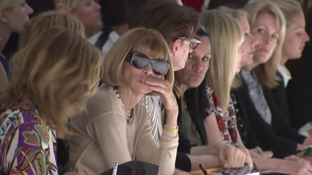 Anna Wintour attends the Derek Lam Spring 2012 show during MercedesBenz Fashion Week Spring 2012 at the Derek Lam Spring 2012 MercedesBenz Fashion...