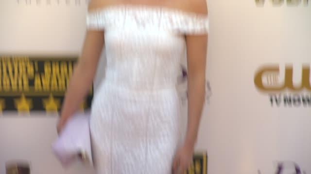 Annabelle Wallis at 19th Annual Critics' Choice Movie Awards Arrivals at The Barker Hanger on in Santa Monica California