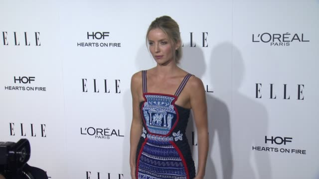 Annabelle Wallis at 23rd Annual Elle Women In Hollywood Celebration at Four Seasons Hotel Los Angeles at Beverly Hills on October 24 2016 in Los...