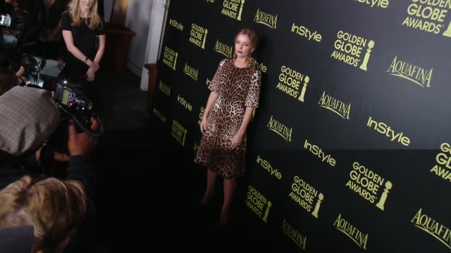 Annabelle Wallis at HFPA And InStyle Celebrate The 2014 Golden Globe Awards Season at Fig Olive Melrose Place on November 20 2014 in West Hollywood...