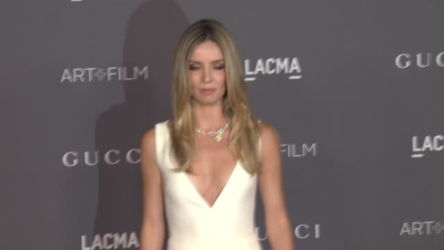Annabelle Wallis at the 2017 LACMA Art Film Gala Honoring Mark Bradford And George Lucas And Presented By Gucci at LACMA on November 4 2017 in Los...