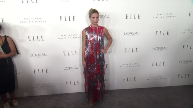 Annabelle Wallis at the 24th Annual ELLE Women In Hollywood Awards on October 16 2017 in Los Angeles California
