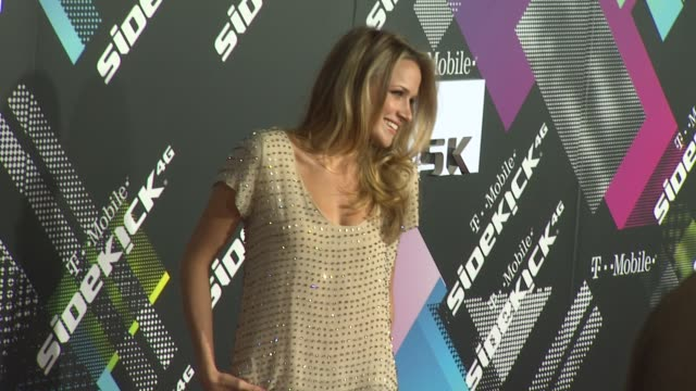 Annabelle Wallis at the TMobile Sidekick 4G Launch at Beverly Hills CA