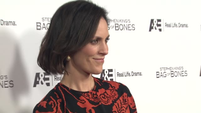 Annabeth Gish at Premiere Party For AE's Original Miniseries Bag Of Bones on 12/8/11 in West Hollywood CA