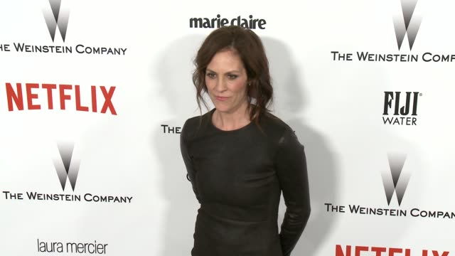 Annabeth Gish at the 2015 Weinstein Company And Netflix Golden Globe After Party at Robinsons May Lot on January 11 2015 in Beverly Hills California