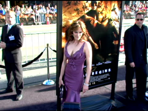 Annabeth Gish at the Batman Begins Premiere at Grauman's Chinese Theatre in Hollywood California on June 6 2005
