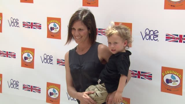 Annabeth Gish at the Kidstock Music And Arts Festival 'Rocks On' With HUDSON JEANS at Beverly Hills CA