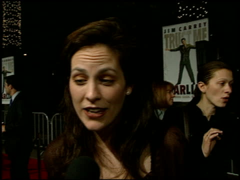 Annabeth Gish at the 'Liar Liar' Premiere at Universal Amphitheatre in Universal City California on March 18 1997