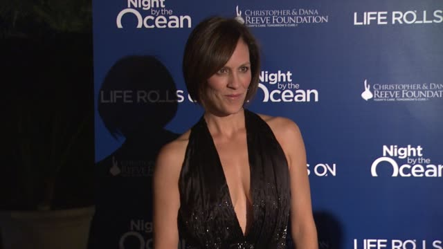 Annabeth Gish at The Life Rolls On Foundation's 9th Annual 'Night By The Ocean' on in Marina Del Ray CA