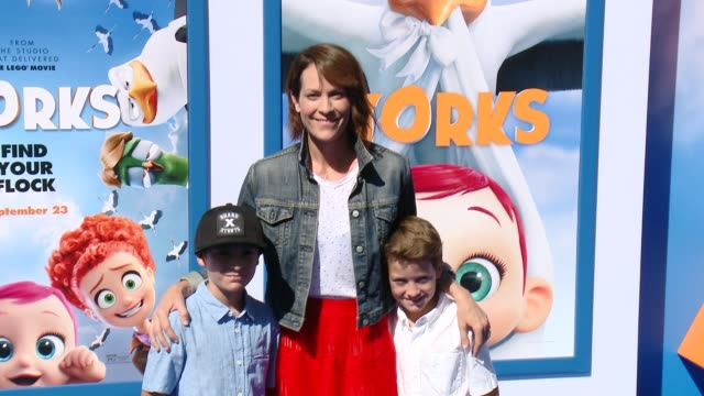 Annabeth Gish at the Storks Los Angeles Premiere at Regency Village Theatre on September 17 2016 in Westwood California