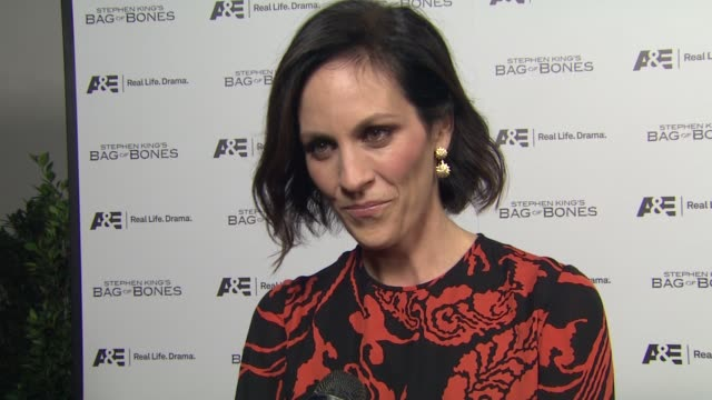 Annabeth Gish on being in a Stephen King movie her role in the film being a Stephen King fan working with Pierce Brosnan if she believes in ghosts at...