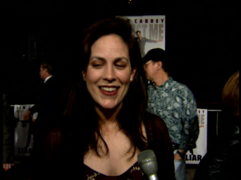 Annabeth Gish talks about her role in the film Steel and working with Shaquille O'Neal
