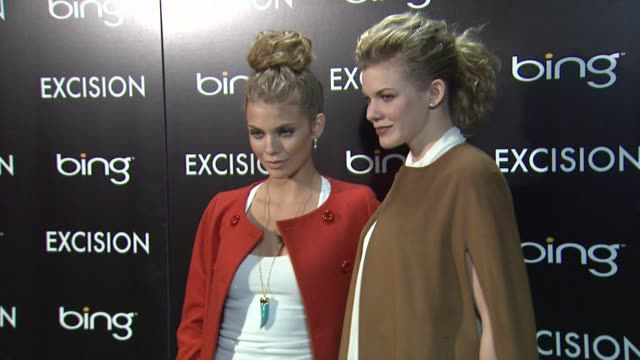 AnnaLynne McCord and Angel McCord at Bing Bar Sundance 2012 Day 3 in Park City Utah on 1/21/2012