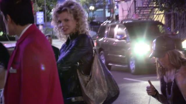 AnnaLynne McCord Angel McCord arrive at Nicki Minaj's Pink Friday Concert in Los Angeles 08/08/12