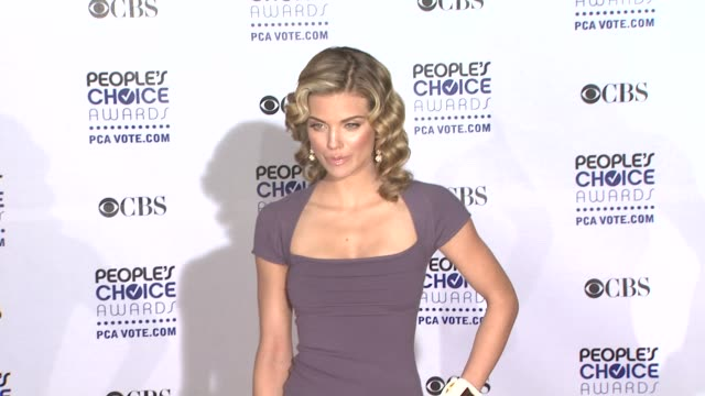 AnnaLynne McCord at the 35th Annual People's Choice Awards at Los Angeles CA