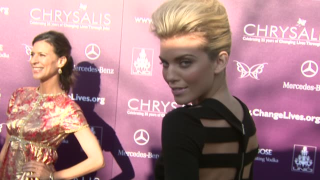 AnnaLynne McCord at the 8th Annual Chrysalis Butterfly Ball at Los Angeles CA