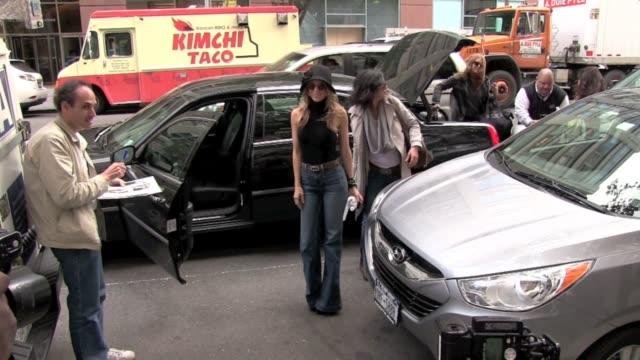 AnnaLynne McCord at the MTV studio on New York on