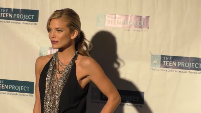 AnnaLynne McCord at The Teen Project's Hollywood Red Carpet Event at TCL Chinese 6 Theatre in Hollywood on October 12 2015 in Los Angeles California