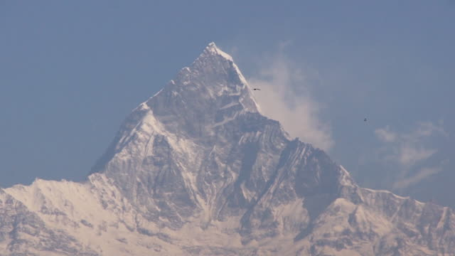 vídeos de stock, filmes e b-roll de annapurna, himalayas, nepal - himalaias