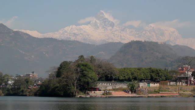 annapurna, himalayas, nepal - annapurna range stock videos and b-roll footage