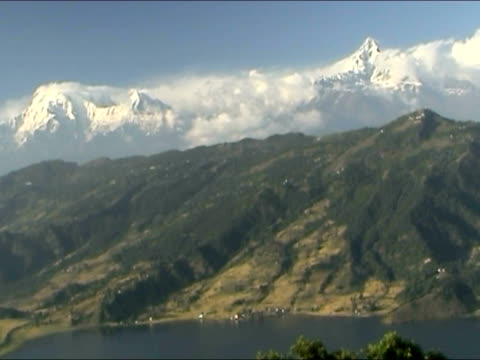 Annapurna Mountain Range - time lapse 4:3 Pal