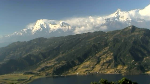 Annapurna Mountain Range - time lapse