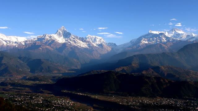 annapurna, nepal - annapurna range stock videos and b-roll footage