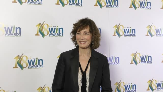 anne archer at the 18th annual women's image awards at skirball cultural center on february 17, 2017 in los angeles, california. - anne archer video stock e b–roll