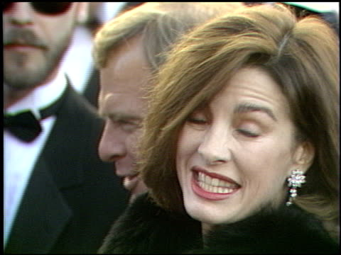 anne archer at the 1989 academy awards at the shrine auditorium in los angeles, california on march 29, 1989. - anne archer video stock e b–roll