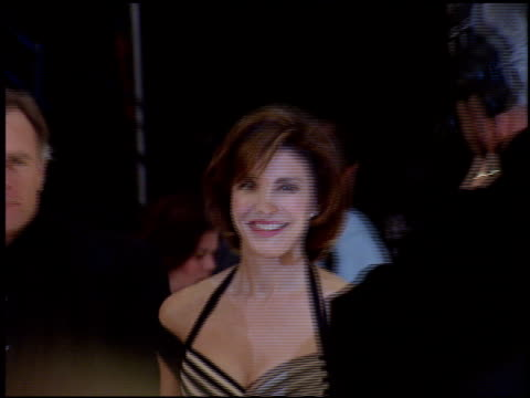 anne archer at the 1998 people's choice awards arrivals at barker hanger in santa monica, california on january 11, 1998. - anne archer video stock e b–roll