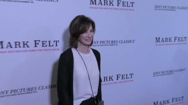anne archer at the premiere of sony pictures classics' 'mark felt: the man who brought down the white house' on september 26, 2017 at writers guild... - anne archer video stock e b–roll