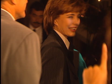 anne archer at the to die for premiere at academy theater. - anne archer video stock e b–roll