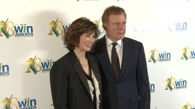 anne archer, terry jastrow at women's image network presents the 18th annual women's image awards in los angeles, ca 2/17/17 - anne archer video stock e b–roll