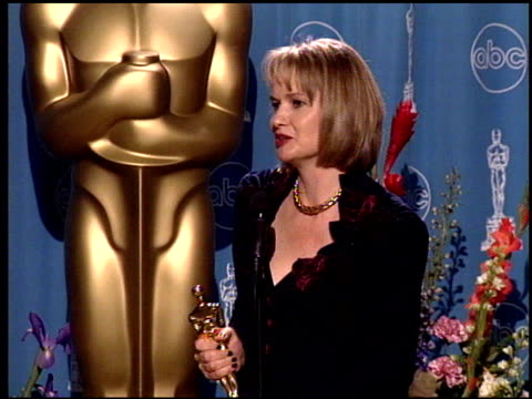 Anne Dudley at the 1998 Academy Awards at the Shrine Auditorium in Los Angeles California on March 23 1998