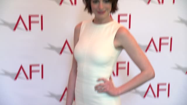 Anne Hathaway at 2015 AFI Awards Luncheon at The Four Seasons Hotel on January 09 2015 in Beverly Hills California