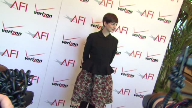 Anne Hathaway at the 13th Annual AFI Awards Luncheon in Beverly Hills CA on 1/11/13