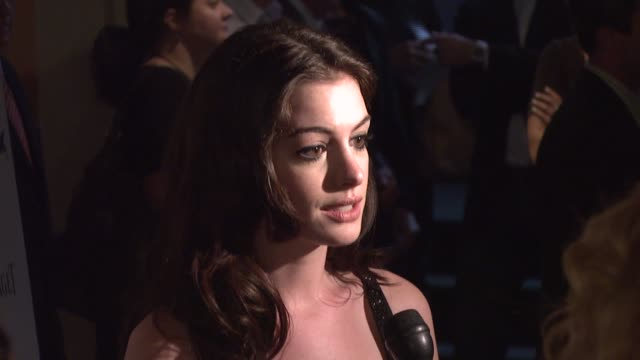 Anne Hathaway at the 'Becoming Jane' New York Premiere at Landmark's Sunshine Theatre in New York New York on July 24 2007