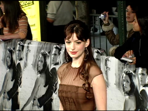 Anne Hathaway at the 'Walk The Line' New York Premiere at the Beacon Theater in New York New York on November 13 2005