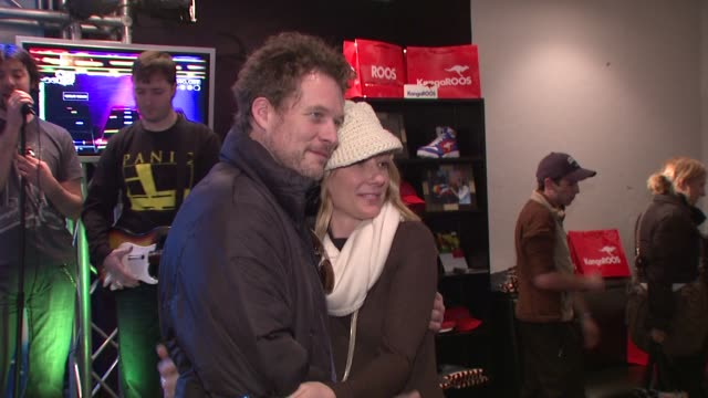anne heche and james tupper at the 2009 sundance film festival - rock band lounge at park city ut. - anne heche stock videos & royalty-free footage