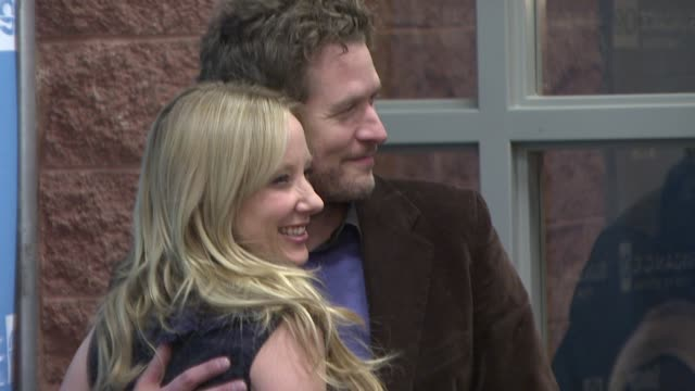 anne heche and james tupper at the 2009 sundance film festival - 'spread' premiere at park city ut. - anne heche stock videos & royalty-free footage