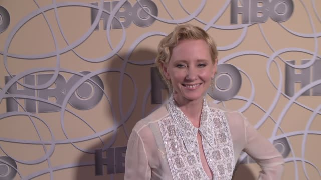 Anne Heche at HBO's Official 2017 Golden Globe Awards After Party Arrival at The Beverly Hilton Hotel on January 08 2017 in Beverly Hills California