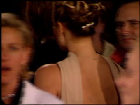 vídeos de stock e filmes b-roll de anne heche at the 1999 academy awards vanity fair party at morton's in west hollywood, california on march 21, 1999. - festa do óscar